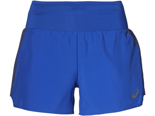 """asics 3,5"""" Shorts Kobiety, illusion blue"""